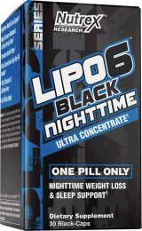 Lipo-6 Black Nighttime Ultra Concentrate