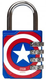 Combination Lock - Captain America