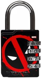 Combination Lock - Deadpool
