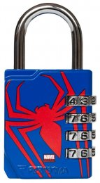 Combination Lock - Spiderman