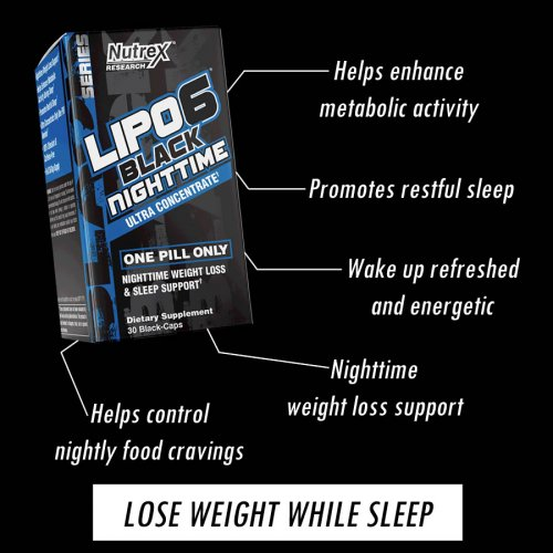 Lipo-6 Black Nighttime UC